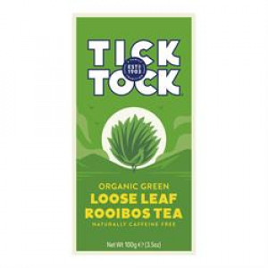 Organic Rooibos Green Loose Tea 100g