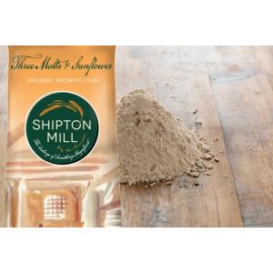 Organic Three Malts and Sunflower Flour 1 kg