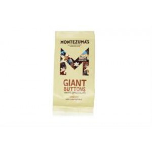 Organic Giant Creamy White Chocolate Buttons 180g