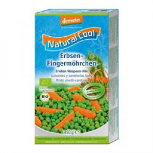 Organic Peas and Baby Carrots 450g