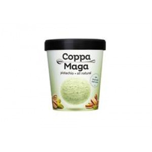 Ice Cream Pistachio - Sweetened with Stevia 500ml