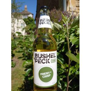 Bushel+Peck FRESH+CRISP Medium Dry Cider 500ml (12 Bottles)