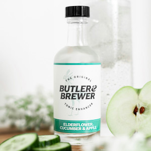 Butler & Brewer Elderflower, Cucumber and Apple Tonic Enhancer
