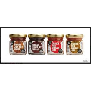 Baobab taster mini jams selection