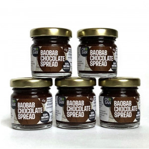 Baobab Chocolate mini spread, 5 x 45g