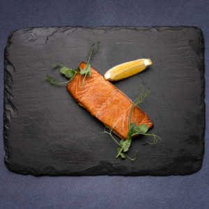 Frozen Hot Smoked Salmon Portions