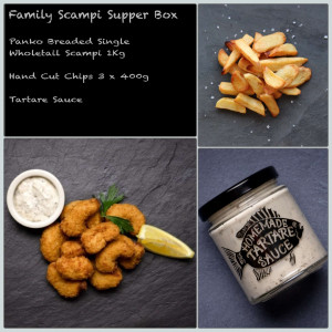 Family Scampi Supper Box