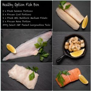 Amity Healthy Option Fish Box