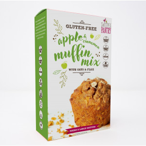 NEW! Apple and Cinnamon Muffin Mix with oats and flax (gluten-free)