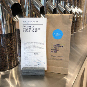 Decaf - Colombia, Wholebean, 250g