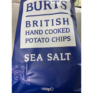 Hand Cooked Sea Salt Crisps – 150g