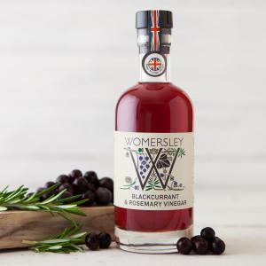 Womersley Blackcurrant and Rosemary Vinegar 250ml