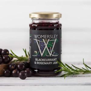 Womersley Blackcurrant and Rosemary Jam
