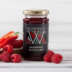 Womersley Raspberry and Chilli Jam