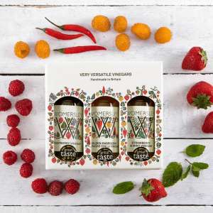 The Womersley Vinegar and Recipes Gift Box
