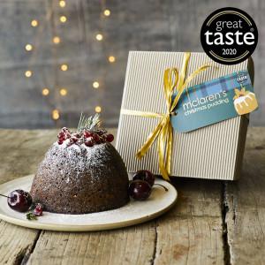 McLaren's Award-Winning Christmas Pudding Extra Large 1g (serves 10)