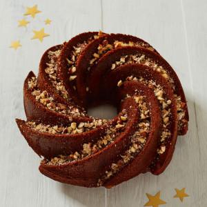 Dark Gingerbread Spiced Bundt Cake (Gluten and Dairy Free)