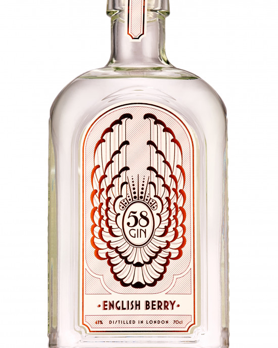 58 English Berry Gin 70cl