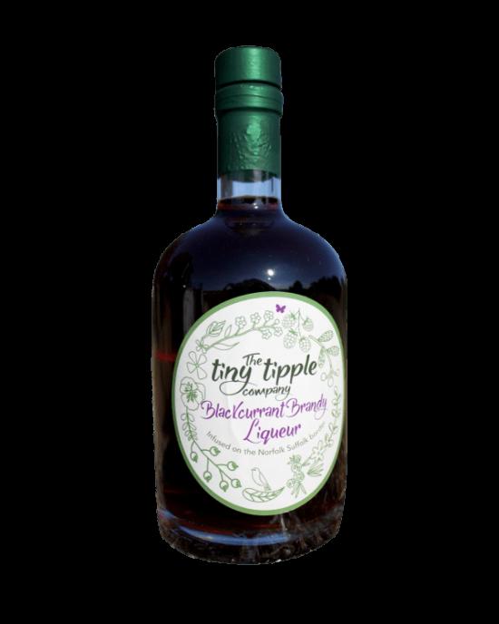The Tiny Tipple Blackcurrant Brandy Liqueur