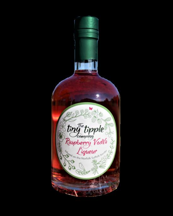 The Tiny Tipple Raspberry Vodka Liqueur
