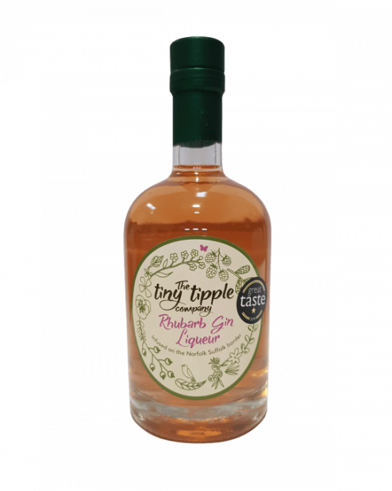 The Tiny Tipple Rhubarb Gin Liqueur