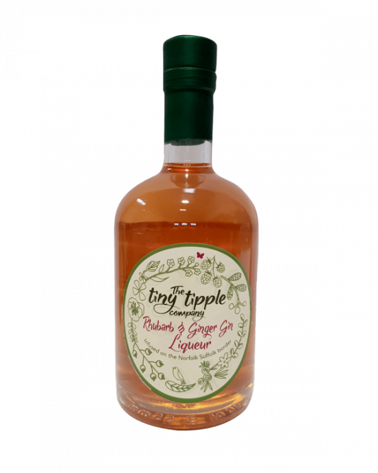 The Tiny Tipple Rhubarb and Ginger Liqueur