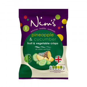 Air Dried Pineapple and Cucumber Single Pack (20g)