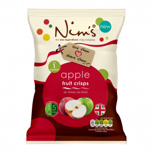 Nim's Apple Crisps Share Bag (70g)