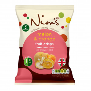 Melon & Orange Fruit Crisps (22g)