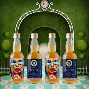 Cotswold Drinks Co. Toffee & Vodka 5cl - set of 4