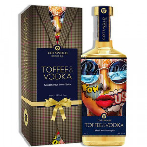 Cotswold Drinks Co Limited Edition Toffee & Vodka 70cl with Gift Box
