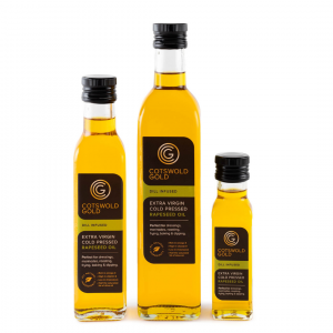 Cotswold Gold Original Rapeseed Oil Infusions - Dill 250ml