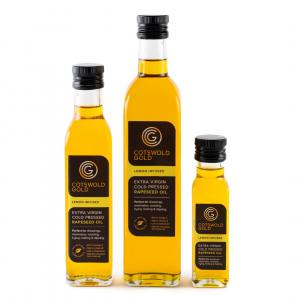Cotswold Gold Original Rapeseed Oil Infusions - Lemon 250ml