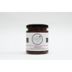 Chilli Jam made with Cornish Chillies