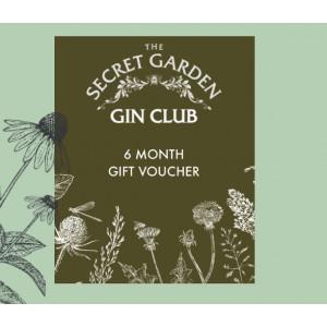 The Old Curiosity Secret Garden Gin Club 6 months Voucher