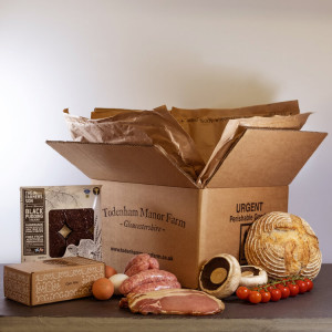 Todenham Manor Farm Ultimate Breakfast Meal Box - Feeds 4 People