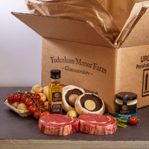 Todenham Manor Farm Steak Supper Meal Box - Feeds 2 People