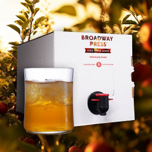 Broadway Press® Iced Apple Juice - 5 Litre Box