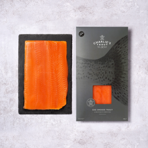 COLD OAK SMOKED TROUT 500G