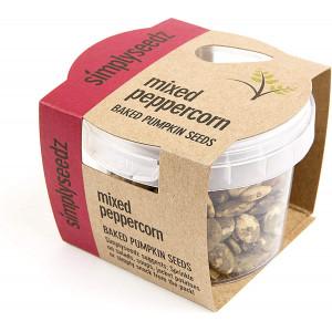 MIXED PEPPERCORN Ready Roasted Pumpkin Seeds Vegan