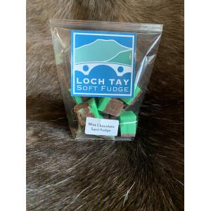 Loch Tay Soft Fudge - Chocolate Mint Flavour 140g