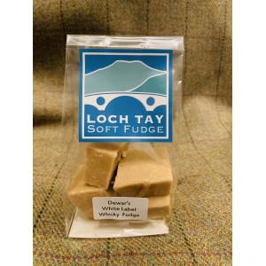 Loch Tay Soft Fudge - Dewar's White Label Whisky Fudge 140g
