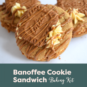 Banoffee Cookie Sandwich Baking Kit