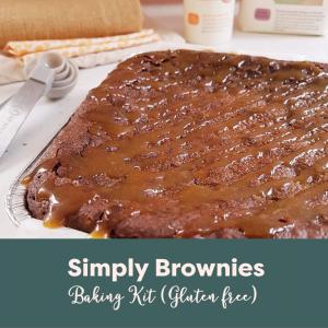 Simply Brownies Baking Kit (GF)