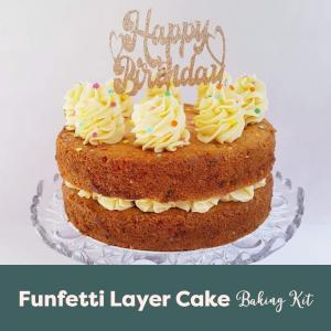 Funfetti Layer Cake Baking Kit