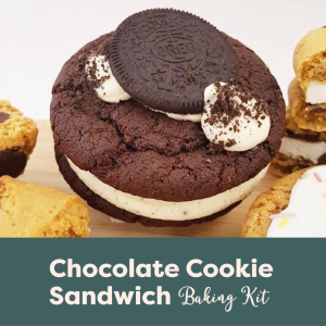 Chocolate Cookie Sandwich Baking Kit