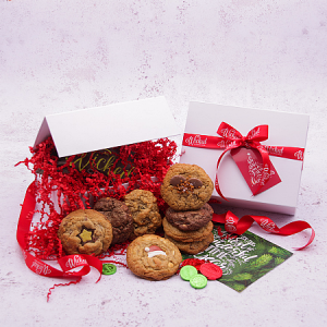 Wicked Cookies Gluten Free Christmas Cookie Selection Gift Box