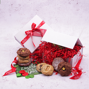Wicked Cookies Vegan Christmas Cookie Selection Gift Box