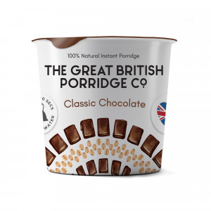 The Great British Porridge Co. Classic Chocolate (8 single pots)