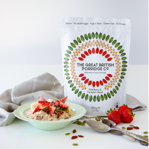 The Great British Porridge Co. Porridge Bag Red Berry and Pumpkin Seed (7 servings)